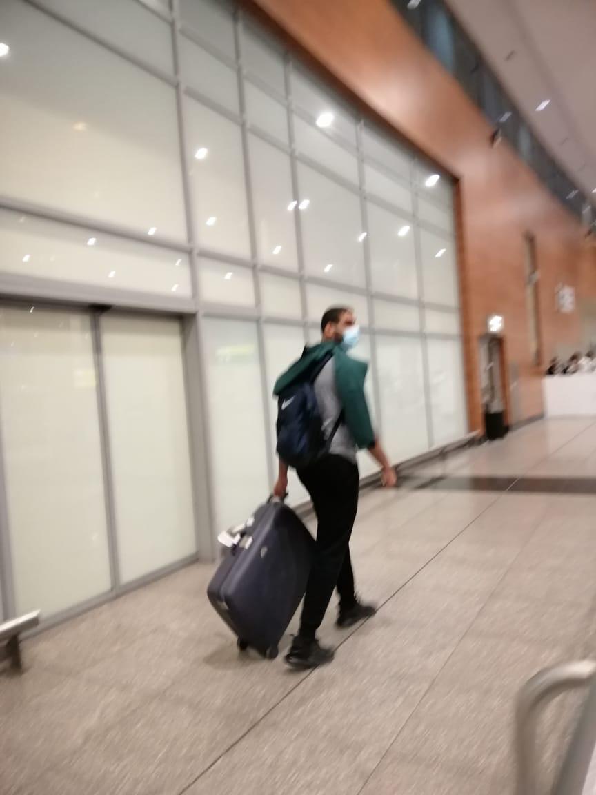 بعثة الزمالك لكرة اليد تصل القاهرة بعد انتهاء مشوارها ببطولة العالم للأندية  (7)
