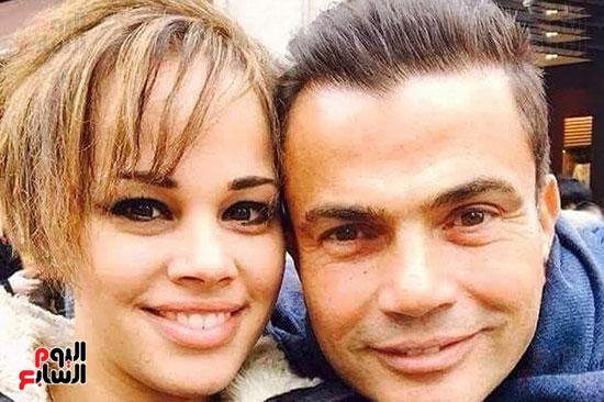 عمرو دياب و ابنتة (2)