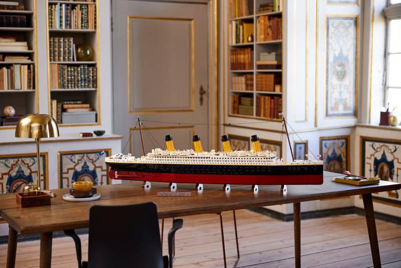 نموذج سفينة تيتانيك