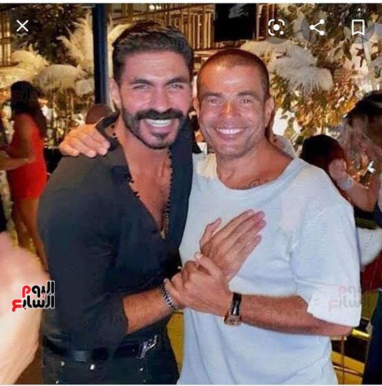 عمرو دياب و خالد سليم