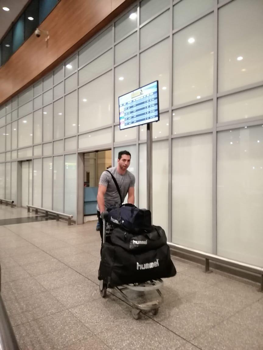 بعثة الزمالك لكرة اليد تصل القاهرة بعد انتهاء مشوارها ببطولة العالم للأندية  (8)