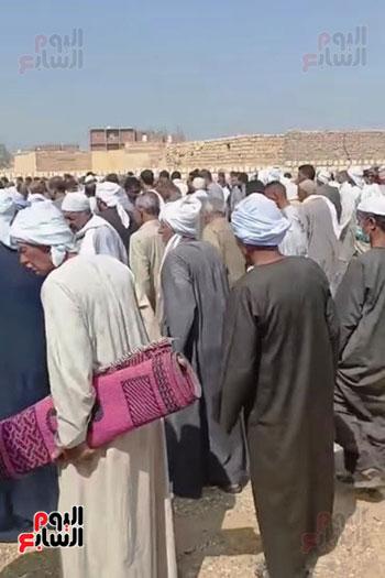 جنازة طبيب غلابة محافظة الفيوم