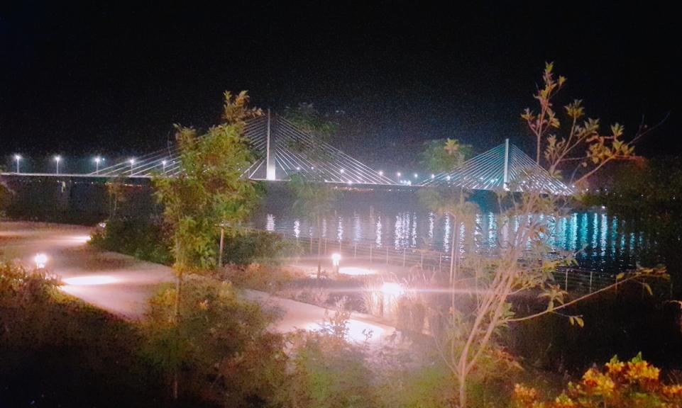 الممشى السياحى بمدينة أسوان الجديدة (6)