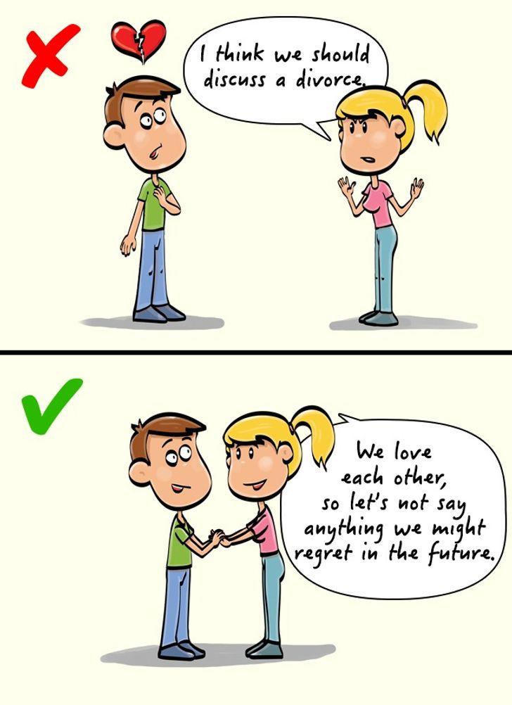 الحديث عن الطلاق