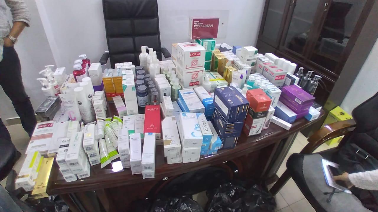 """""""الصحة"""" تغلق مركز شهير لعلاج الأمراض الجلدية بالليزر فى مدينة نصر.. صور"""