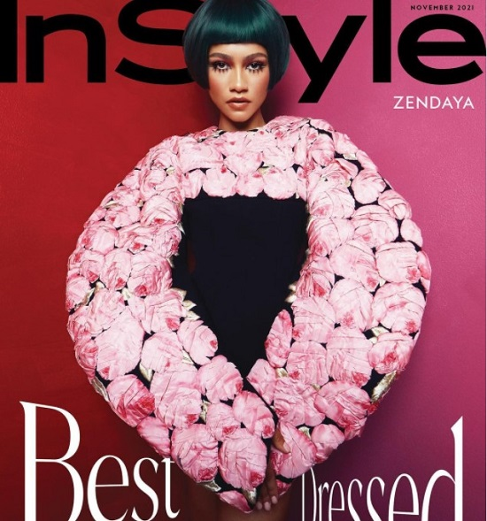 Zendaya on the cover of Insider