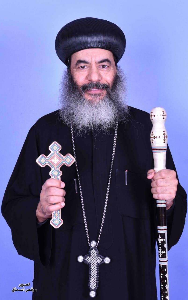الأنبا كاراس الأسقف العام لإيبارشية المحلة الكبرى
