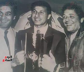 محمود ياسين و الخطيب و محمود عبد العزيز