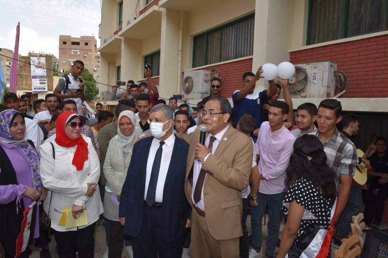 حفل استقبال طلاب كلية تمريض الجدد والقدامى  (4)