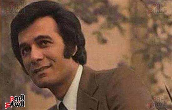 محمود ياسين فى شبابه
