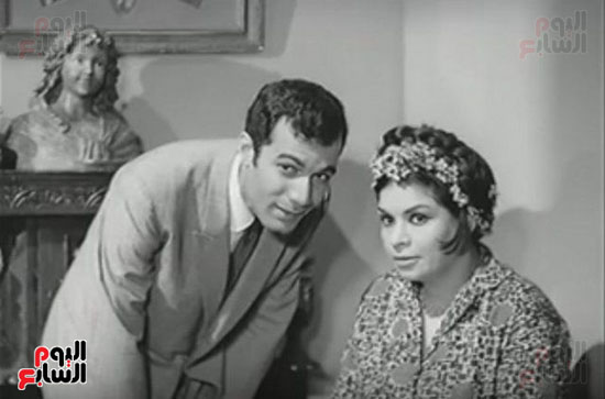 محمود ياسين و كريمة مختار