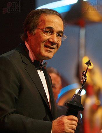 محمود ياسين فاز بجائزة مهرجان القاهرة