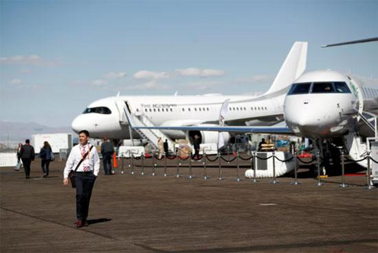مؤتمر ومعرض طيران الأعمال NBAA في هندرسون، ولاية نيفادا، الولايات المتحدة،