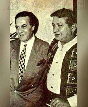 محمود ياسين و نور الشريف