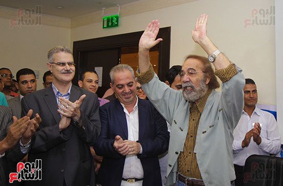 ندوة محمود ياسين فى مهرجان الاسكندرية