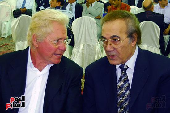 محمود ياسين و حسين فهمى