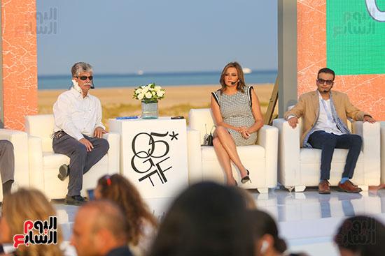 صور من المؤتمر الصحفى لمهرجان الجونة