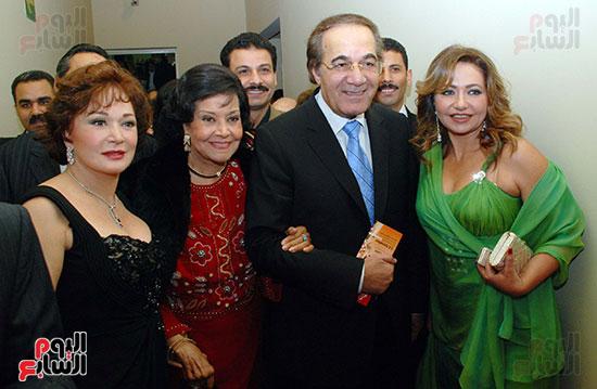 محمود ياسين فى احد المهرجنات