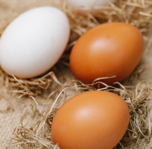 Egg and onion mask