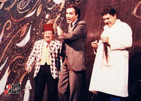 مسهد من احدة المسرحيات لمحمود ياسين