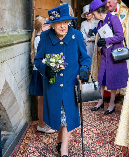 صورة أخرى للملكة إليزابيث