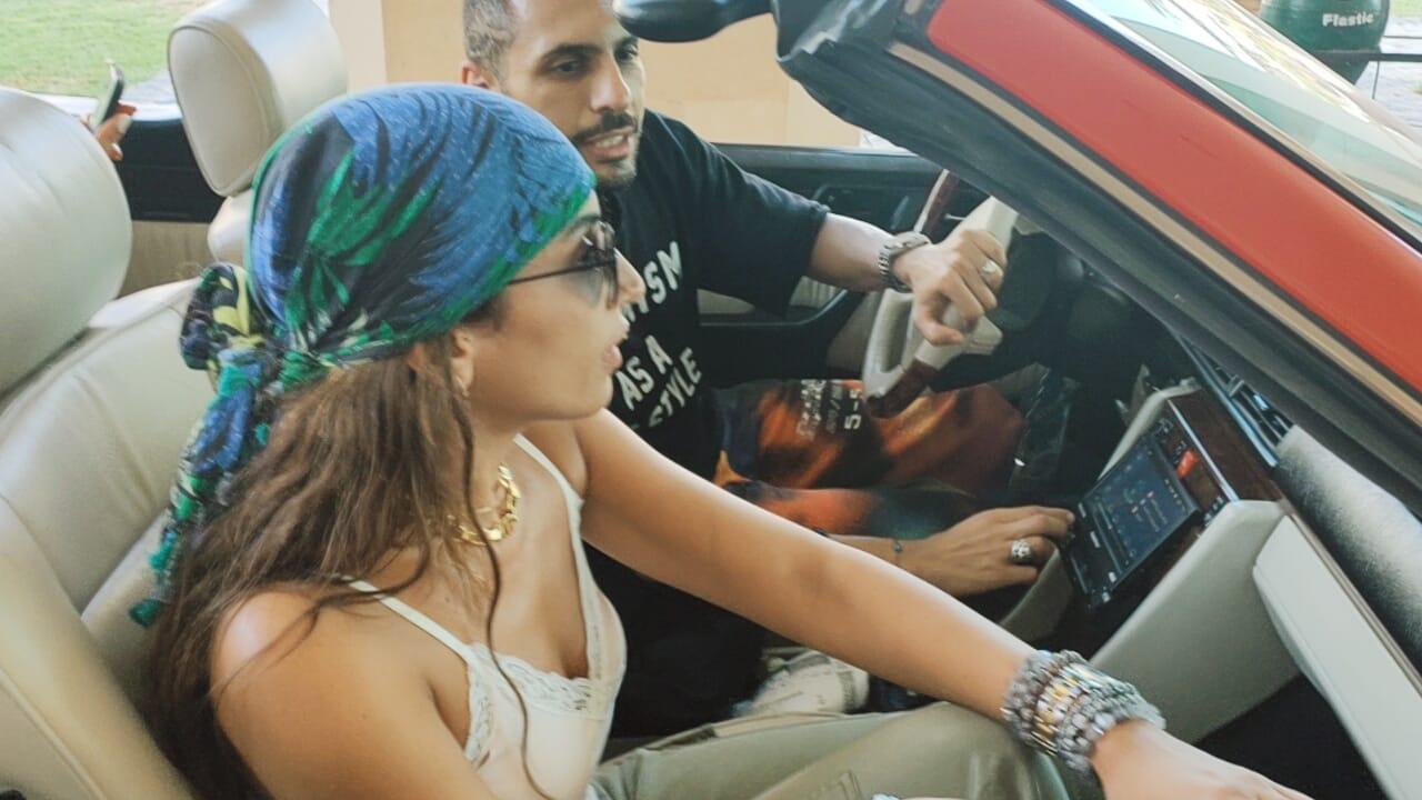 دينا الشربيني وحسن أبوالروس (1)