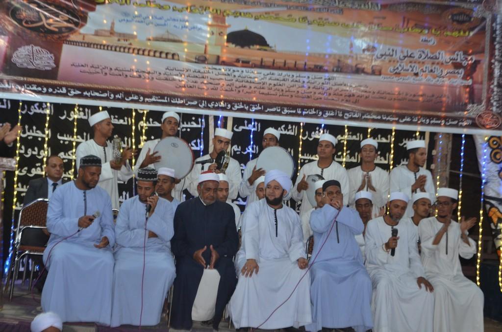 مليونية الصلاة على النبي بإسنا