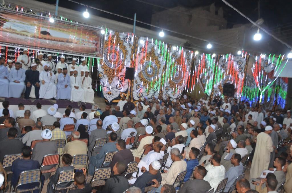 حضور مميز فى حفل مليونية الصلاة على النبي