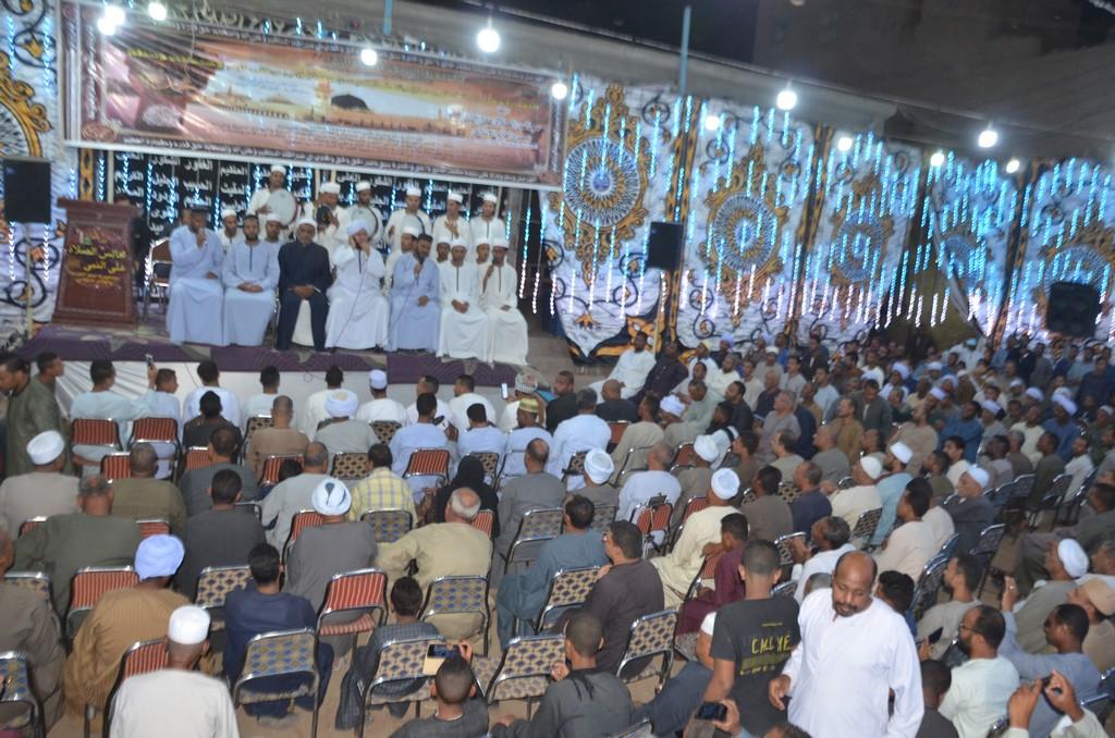 فعاليات مليونية الصلاة على النبي جنوب الأقصر