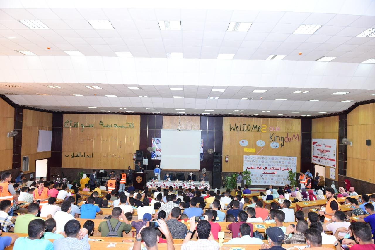 حفل كلية كلية الهندسة لجامعة سوهاج (9)