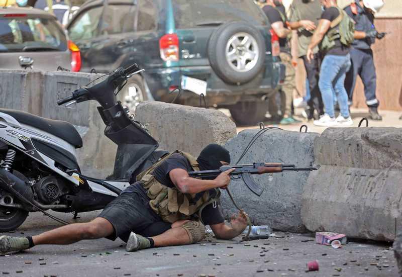 بيروت تتحول إلى ساحة حرب (9)