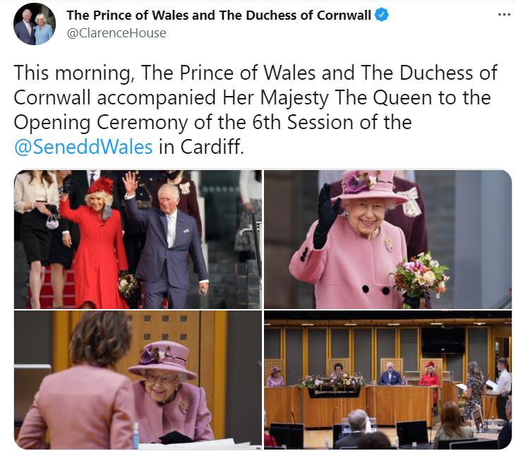 أمير ويلز ودوقة كورونوال