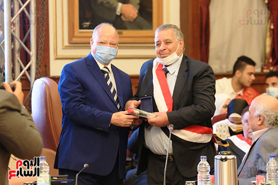 احتفالية بمحافظة القاهرة تصوير خالد كامل (5)