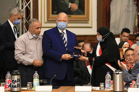 احتفالية بمحافظة القاهرة تصوير خالد كامل (3)