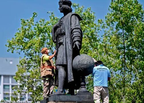 تمثال كولومبس
