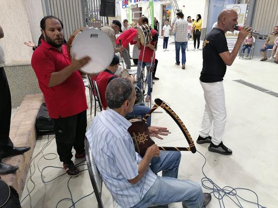 حفلة السمسمية بسوق البازار