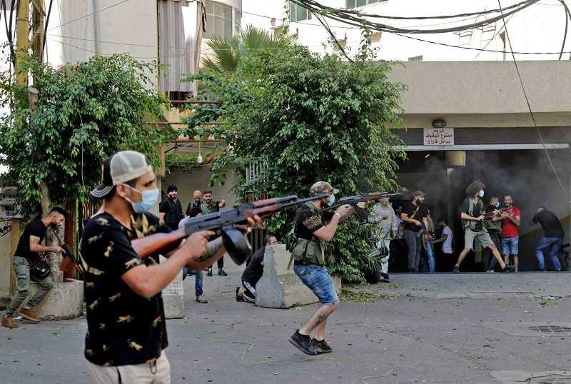 بيروت تتحول إلى ساحة حرب (16)