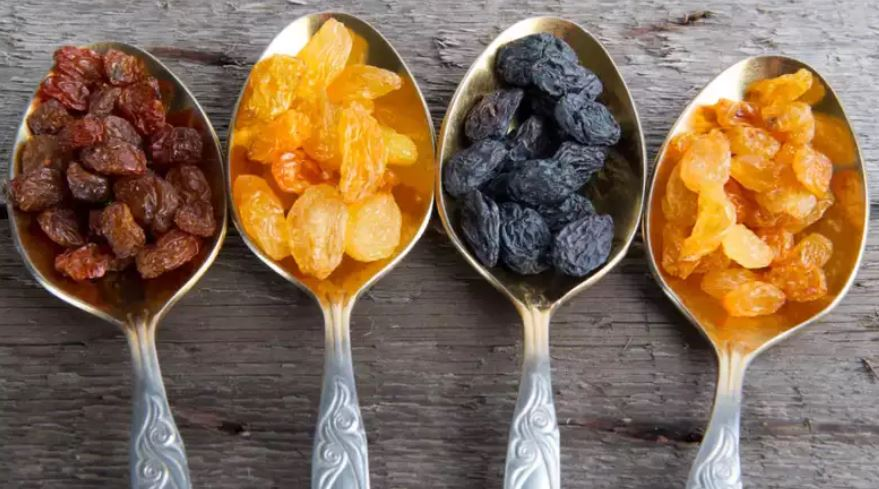 Kinds of raisins