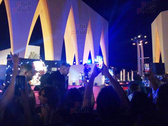 محمد رمضان يشعل حفل مهرجان الجونة (1)