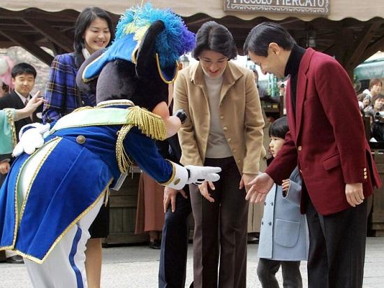 الأميرة إيكو ووالديها
