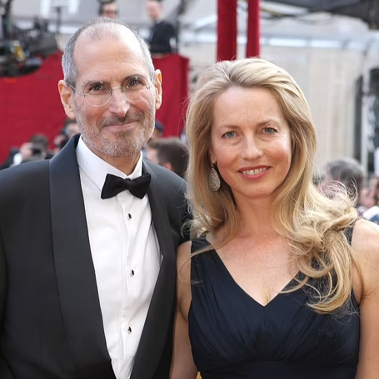 Steve and his wife