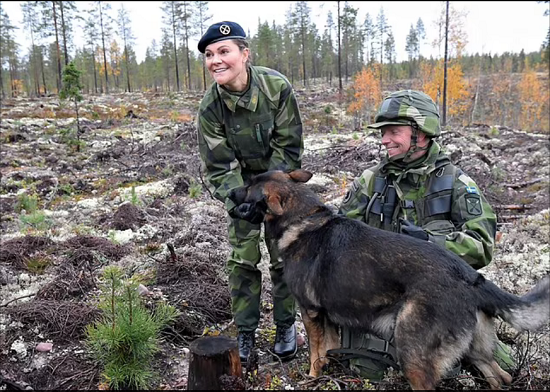Princess Victoria abandons her femininity and wears military clothes (7)