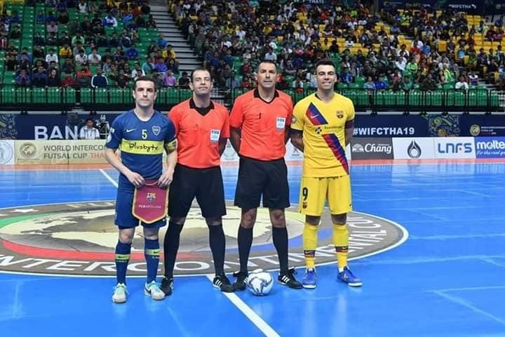 محمد حسن  فى إحدى المباريات