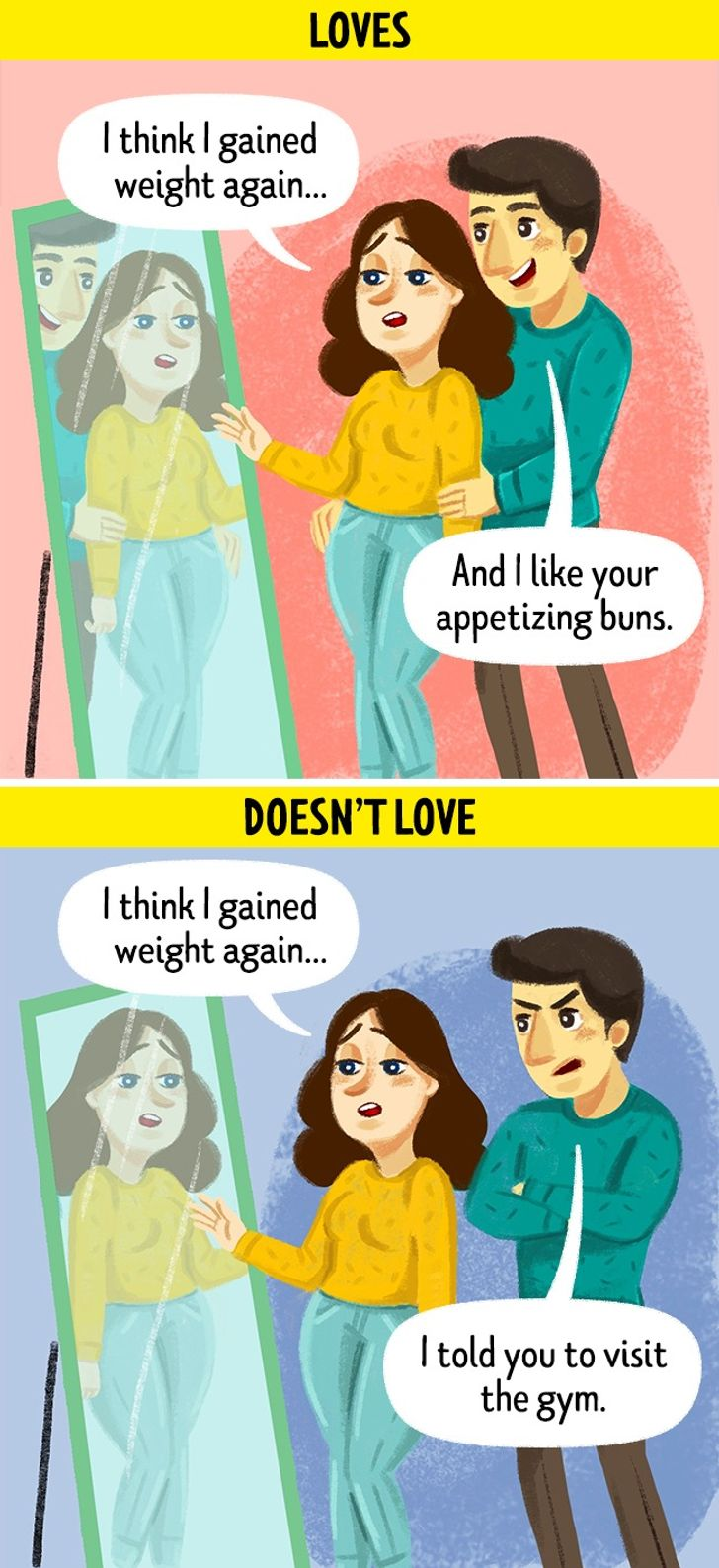 criticize appearance
