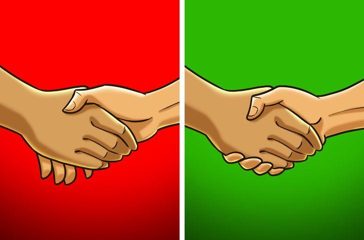 handshake method