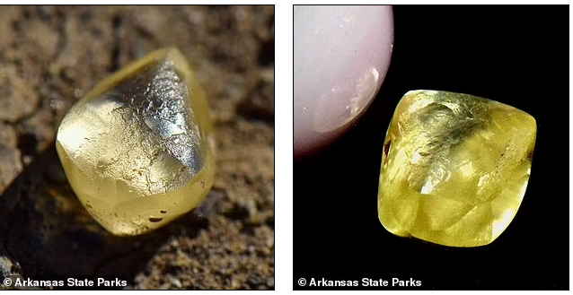 The diamond that was found