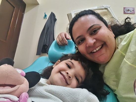 Maryam with another child