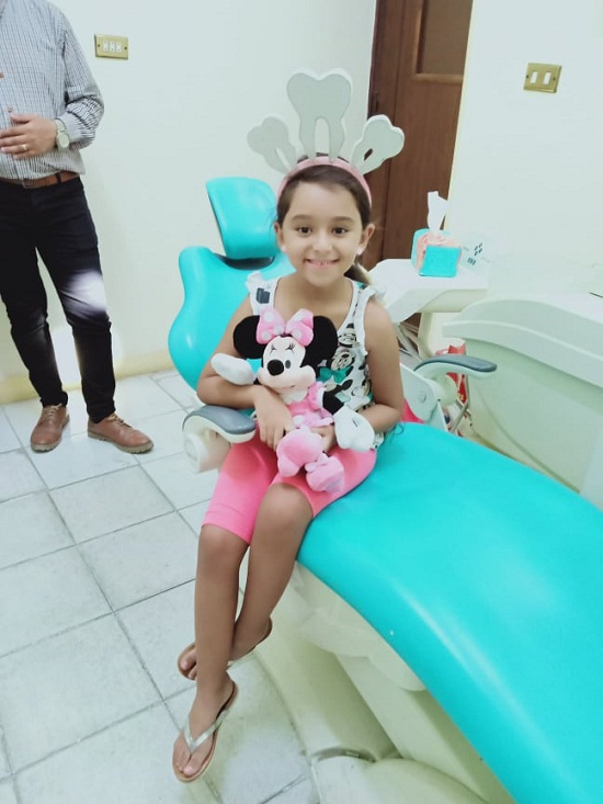 A child in the clinic
