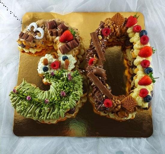 Eclair tart