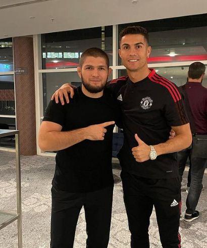 Mammadov and Ronaldo